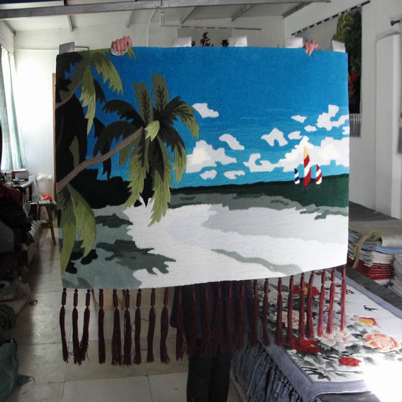 new hot Living Room den tapestries tapestries romantic landscape 80 * 140 CM manual acrylic fibers tapestries tapestries