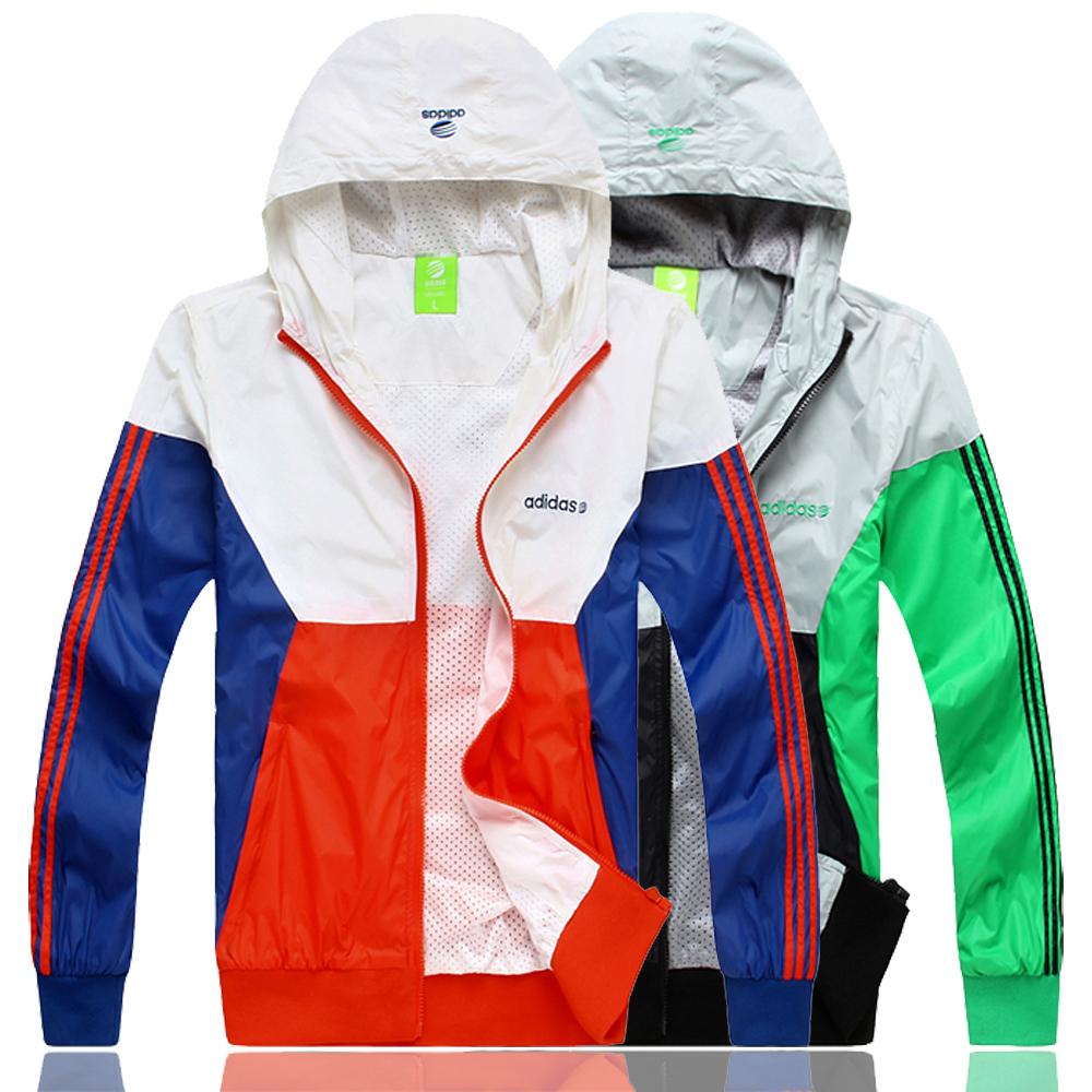 Спортивная ветровка Adidas 69972 Для мужчин Молния Полиэстер Для спорта и отдыха Удерживающая тепло, Против ветра