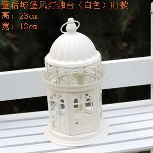Цвет: Сказка замки свеча (белая) H1