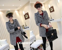 Pregnant women suit collar cardigan jacket splicing