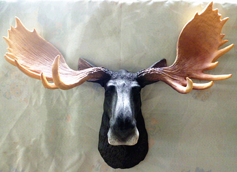 Натенный аксессуар Chen Jie fashionable furniture wall/mounted deer head lut005