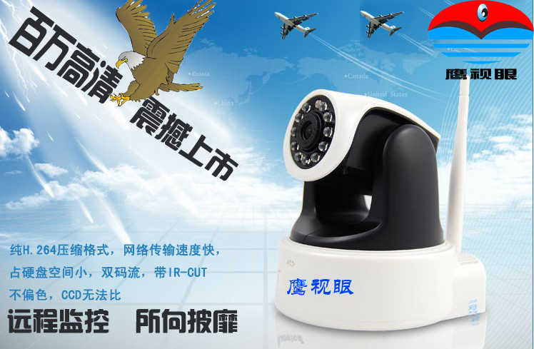 IP камера Eagle Vision  720P H.264 SD