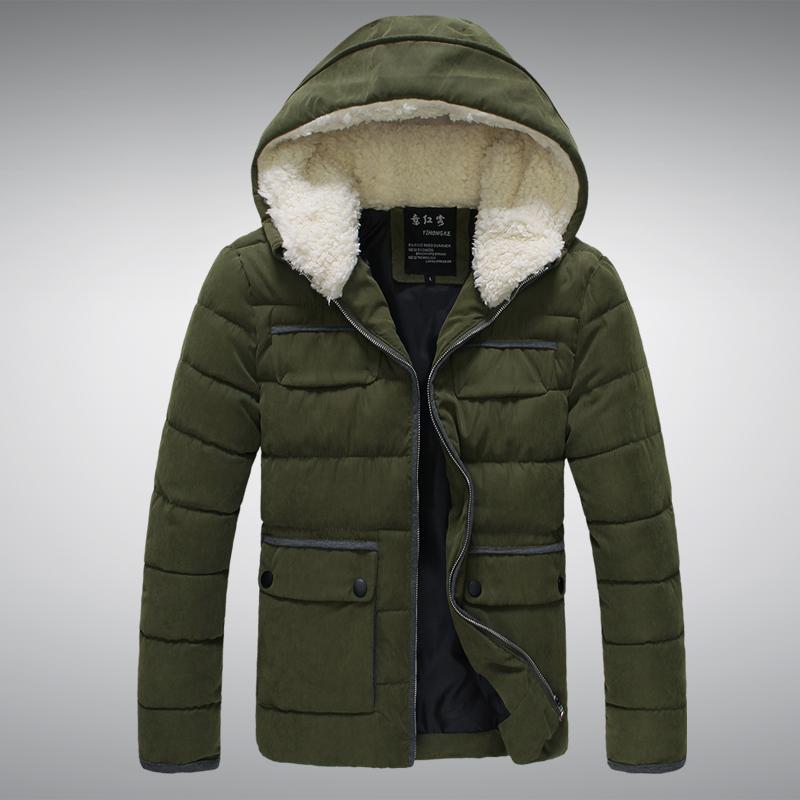 (950元)  4: 美特斯邦威男士青年立領加厚條絨羽絨棉衣燈芯絨棉襖夾克圖片