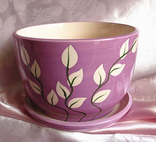 Цвет: Фиолетовый длина стельки белые листья