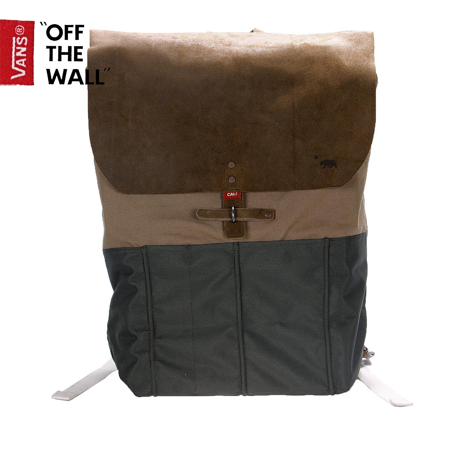 The new package mail VANS/ Vance male Coffee color backpack GOLETA BACKPACK|VN-0S3V87P