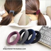 韩国韩版粗发圈适合头发偏多的无接缝发绳头绳马尾扎皮套橡皮筋