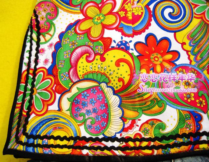 Платье Ципао 2011 летний национальной ветер более стильный и красочный рубашка ~ белый/черный 1I - 010c