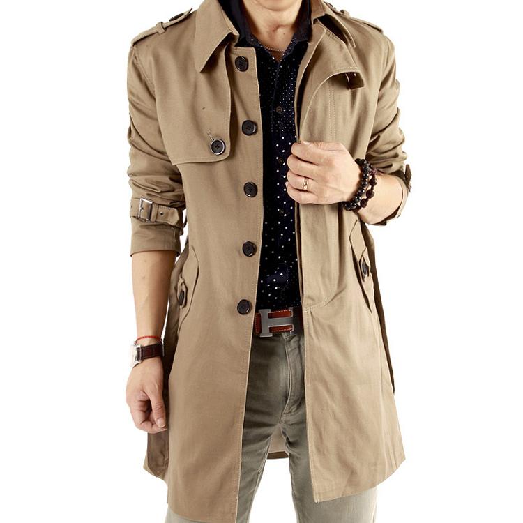 0918杰克絲盾2013春裝正品 男士風衣修身外套男 男裝加肥加大碼圖片