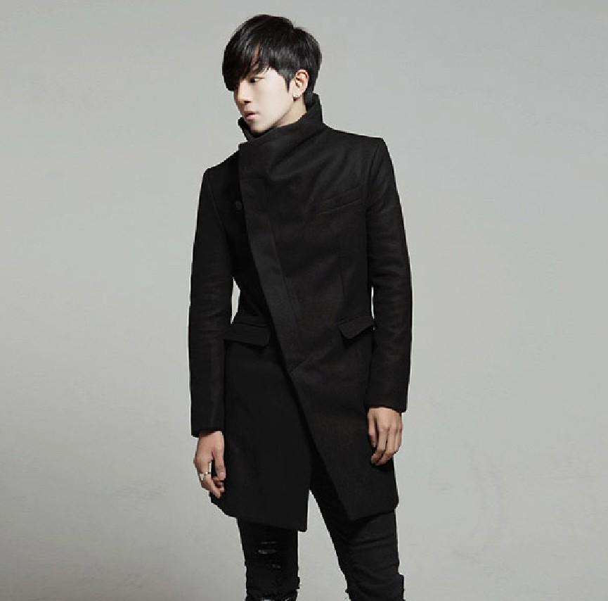 韩版修身中长款风衣 拍下减价