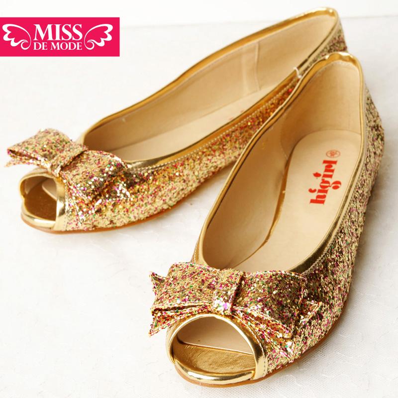 Обувь для родителей и детей Miss de mode HS2001700 2013 Танкетка Без шнуровки