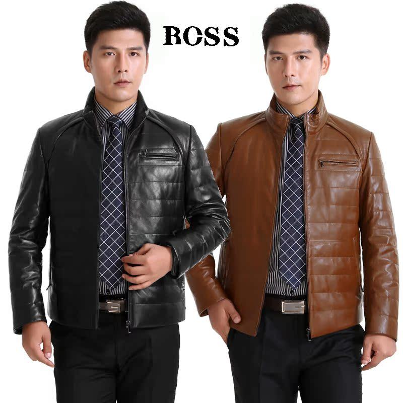 Одежда из кожи Boss