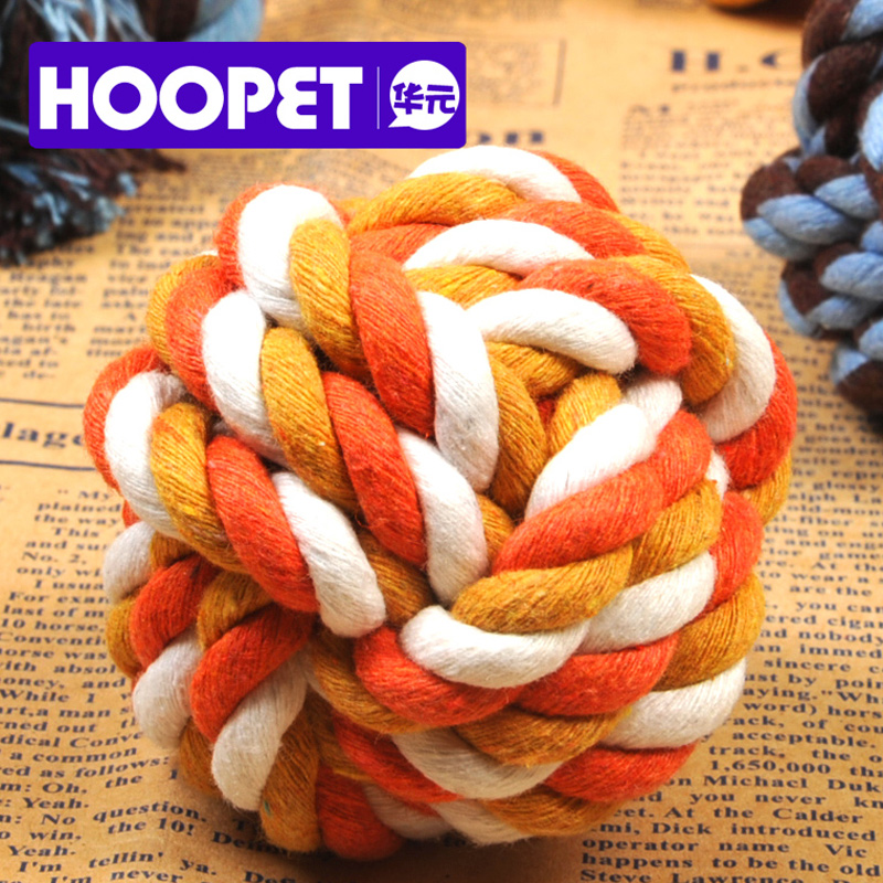 Dog rope ball dog bite teeth bite bite ball pet chew rope dog toy pet toys b