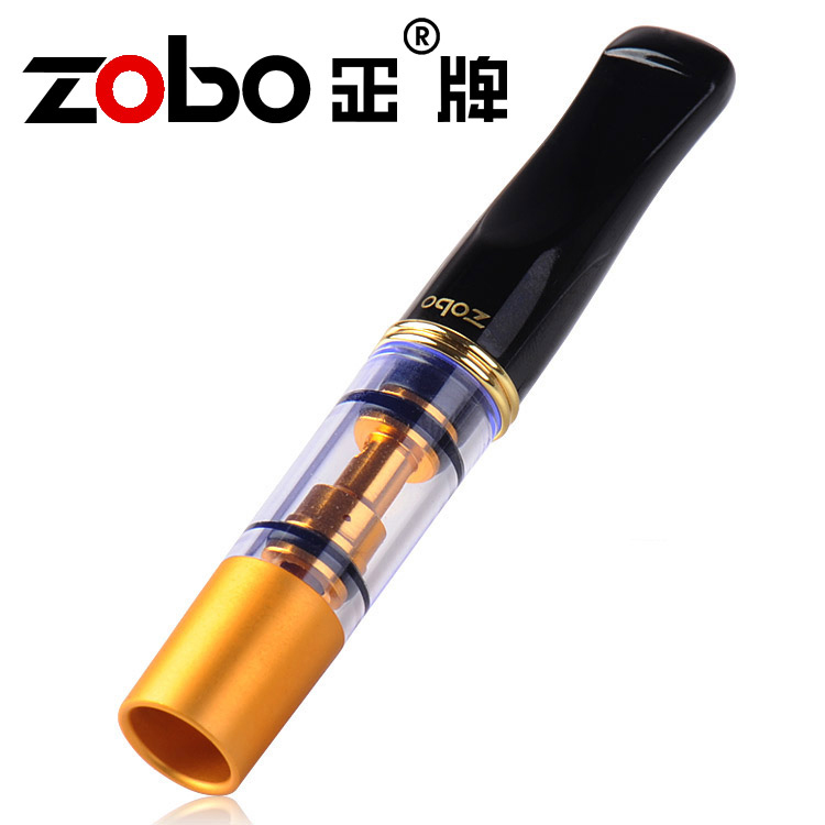ZOBO real cigarette holder filter filters a genuine cigarette holder-circular washable double filter cigarette holder
