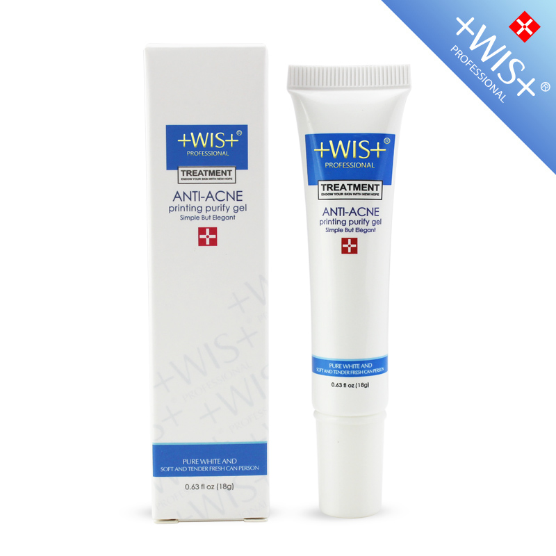 Anti-acne pimple printing fix acne acne scar acne pits concave hole WIS acne purifying gel printed 18g