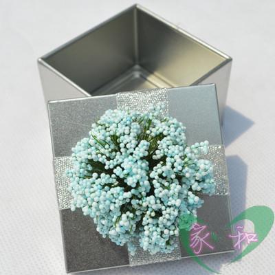 促销特价马口铁盒子喜糖盒批发装饰直角方形银金红紫色结婚庆用品