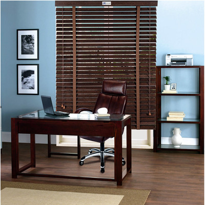 According to the UN high-end decorating wood blinds blackout blinds aluminum rail Personal Emergency luxurious shade ring cloud