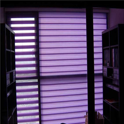 Habitat according to day and night soft gauze curtains blinds aluminum blinds zebra curtain configuration dimming sun shading