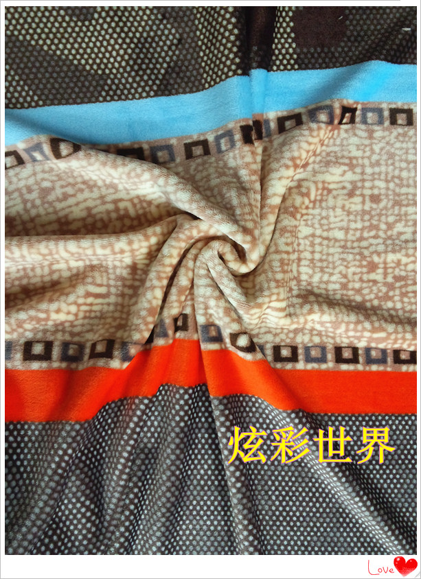 Хлопчатобумажная ткань Расширены утолщенные коралловые флис ткани одеяло коралловые флис Оптовая 4-х частей коралловые флис пижамы