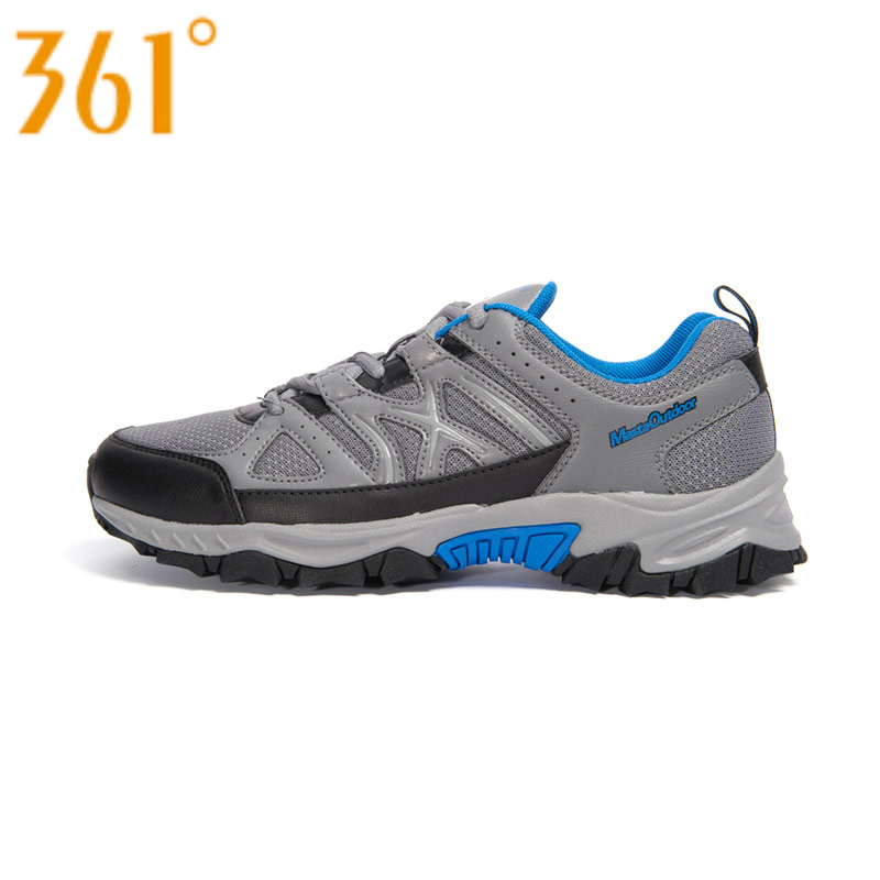 Spring of 361-authentic products outdoor shoes non-slip men's sports wear-resisting off-road running shoes 7,243,334