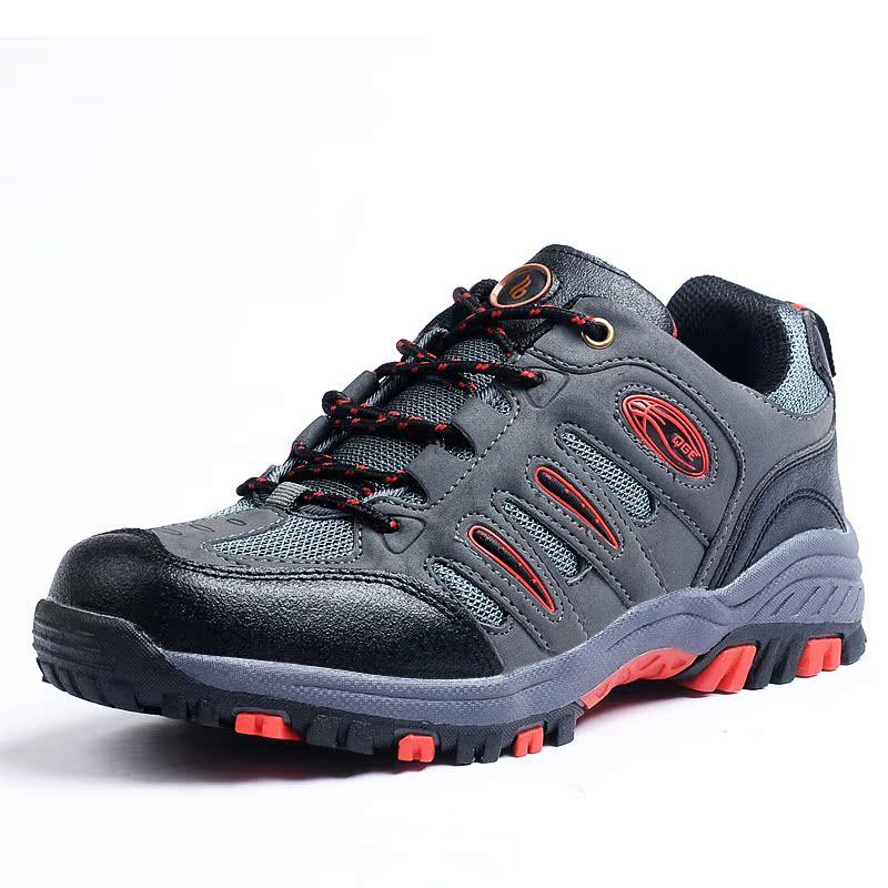 2013春夏秋男户外登山徒步鞋 低帮轻便徒步鞋 防滑透气旅游运动鞋
