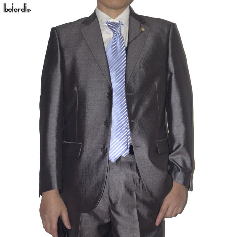 法国登喜路西装男韩版新郎西服 男休闲西服套装男士修身礼服8636