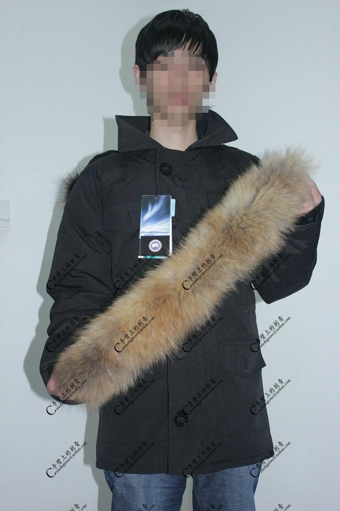 куртка CANADA GOOSE Banff Parka CANADA GOOSE 2011 Китай 90 белый утиный пух % Водонепроницаемая, Удерживающая тепло, Против ветра