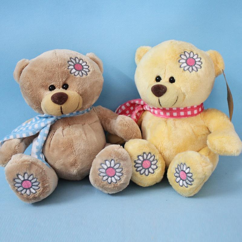 可爱情侣轻松小熊 轻松熊喜娃懒懒熊公仔 婚车娃娃 结婚礼物