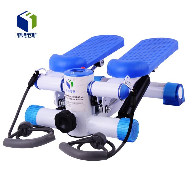 菲特尼斯正品多功能迷你液压踏步机家用带拉绳瘦身减肥健身器材