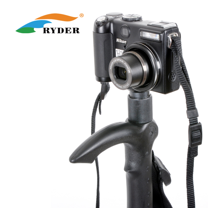 Buy one, get one free! Ryder/Clyde authentic outdoor camera 4 section monopod alpenstock cane walking stick