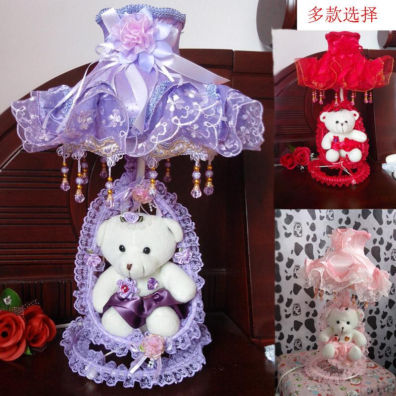 包邮婚庆结婚礼物 创意时尚实尚送朋友新婚礼物礼品浪漫台灯卧室