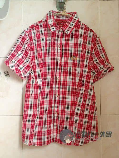 женская рубашка Вложение, вы теряете красный вышитая рубашка с короткими рукавами
