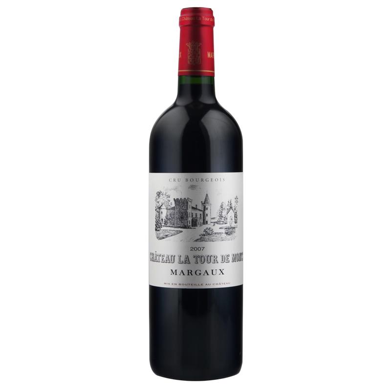 中级酒庄AOC 法国原装进口红酒 拉图之梦干红葡萄酒
