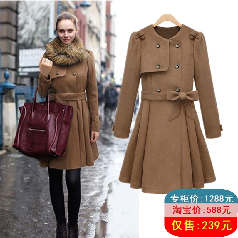 женское пальто 8118