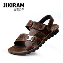 2013 new casual sandals genuine leather men's sandals men's new Korean wave of summer sandals
