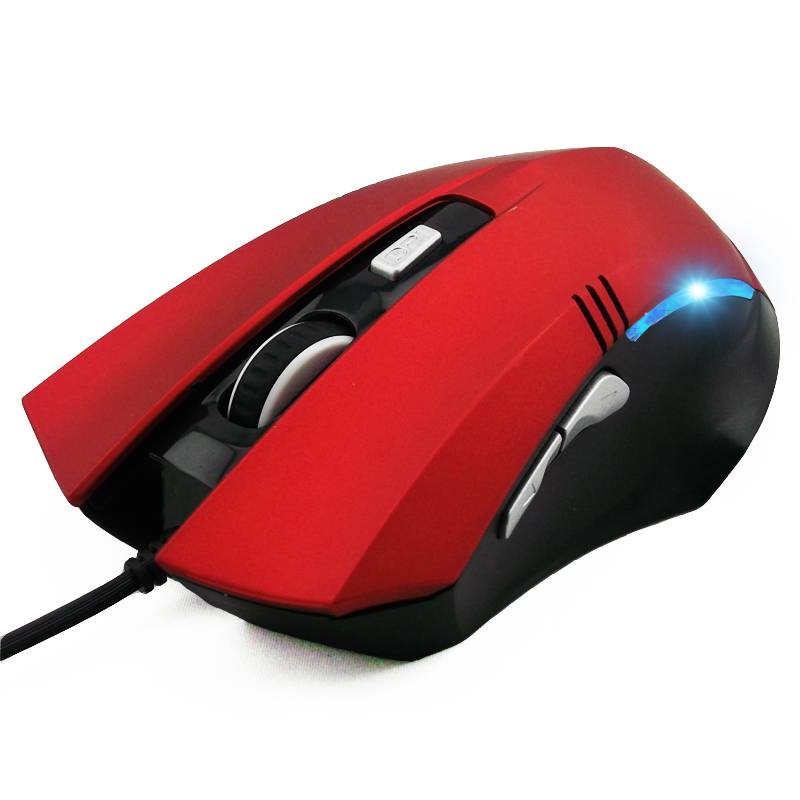 包邮送鼠标垫 今贵510有线鼠标游戏笔记本台式USB鼠标个性6键发光
