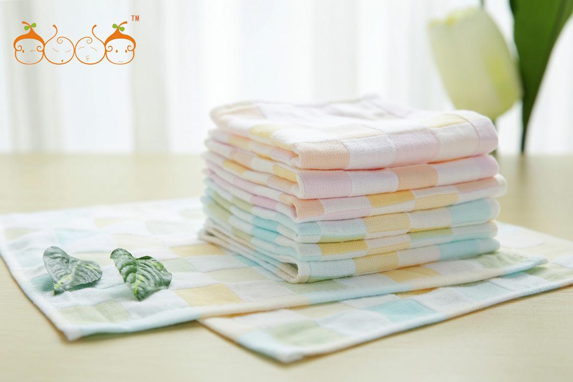 美容纯棉纱布方巾