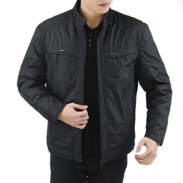 Ba Jin Men genuine 2013 new winter jacket men's casual collar jacket plus fertilizer XL shipping