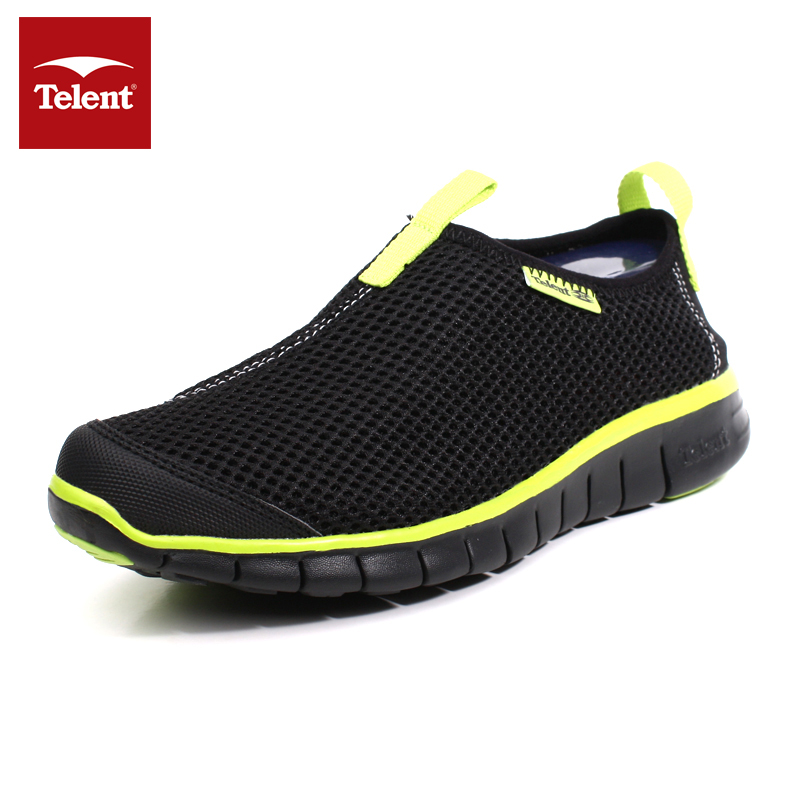 Telent summer family day non-slip walking shoes outdoor sports men and women running shoe mesh breathable hiking shoes