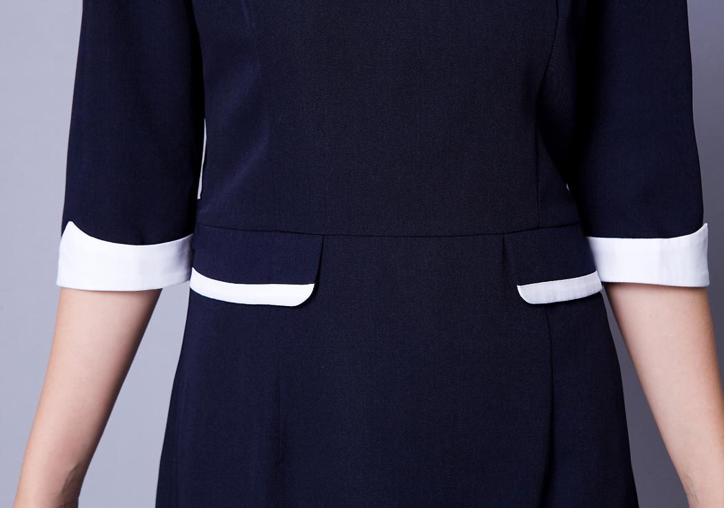 Офисный костюм b01/1 B01-1 Рукав 3/4 Другие фасоны юбок