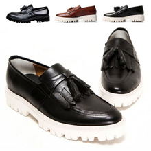 Andy lau with tassel shoe British han edition men's shoes leather men's casual shoes Fashion shoes