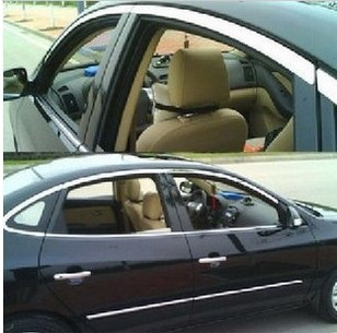 比亚迪F3车门窗条G3上窗条F3R亮条L3不锈钢车窗饰条花冠亮外压条