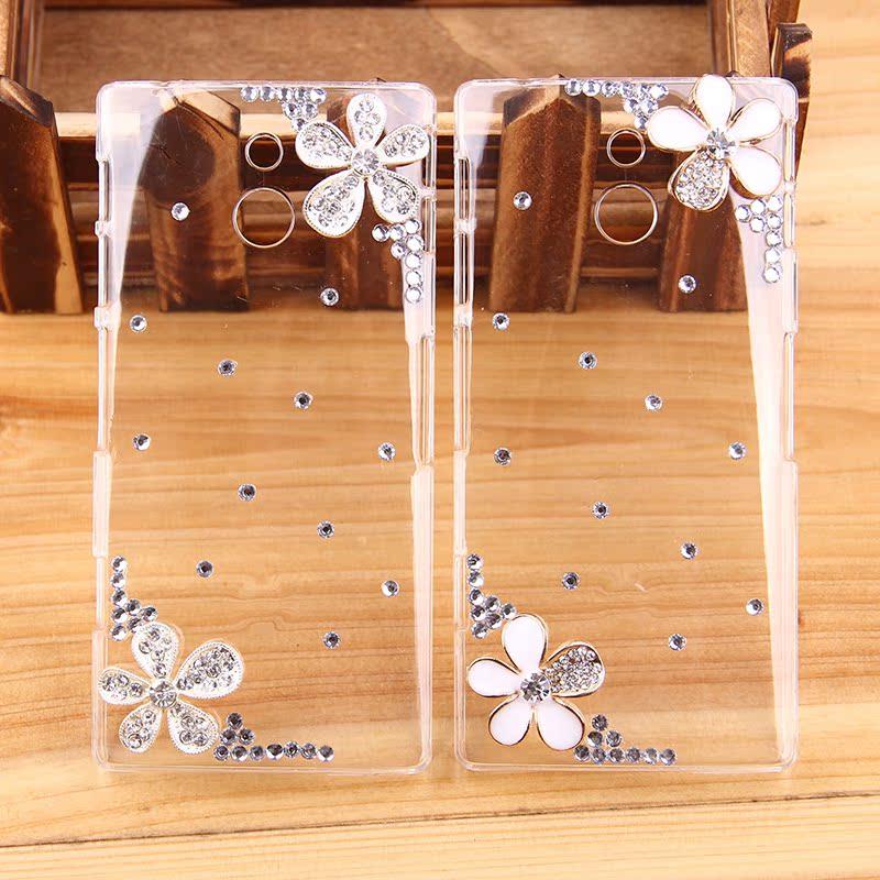 Чехлы, Накладки для телефонов, КПК Diamond jewelry LT26ii L36h S39h Lt26i
