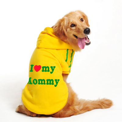 Sweater dog clothes fall and winter clothes in the large dog Samoyed dog clothes big golden clothes clothing