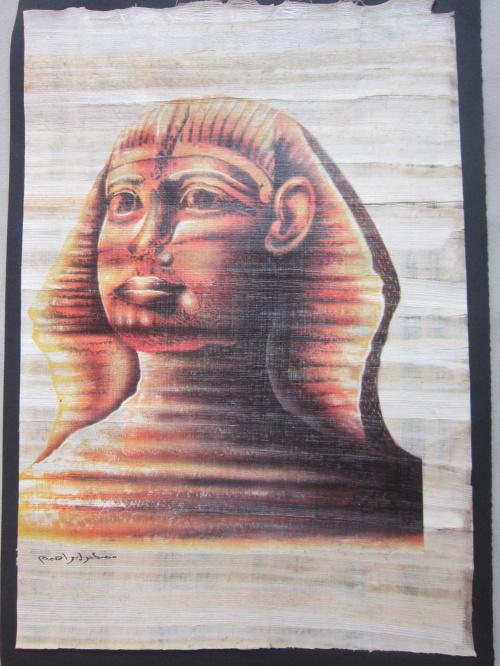 Египет Месте картина папируса в Африке уникальные ремесла функции изысканный Египетский папирус живописи