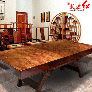 Brazil Bubinga wood slab table wood slab desks BA spend a large solid wood table wood tea table in stock