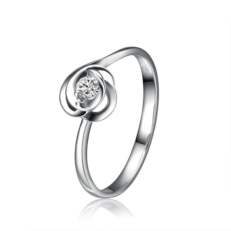 蒲昔拉蒂 钻石 裸钻 钻戒  结婚钻戒  定制钻戒  相守白金女钻戒