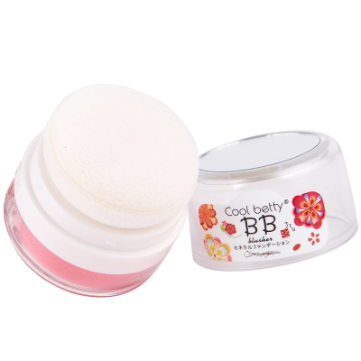 Ice Love BB series run through Ze powder blush rouge genuine loose silty mineral natural pink