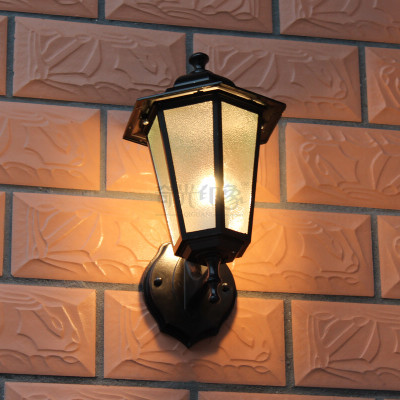 Free shipping outdoor wall lamp light waterproof rustproof European outdoor balcony garden lamp post vintage wall lights led
