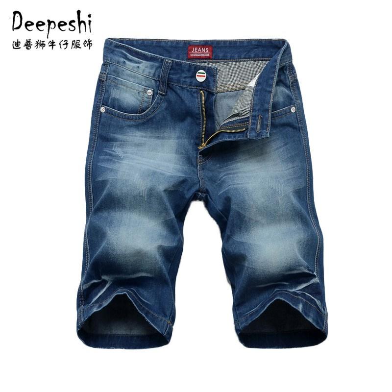 Джинсы мужские Jeans h3312 Deepeshi Плотно облегающие Классическая джинсовая ткань