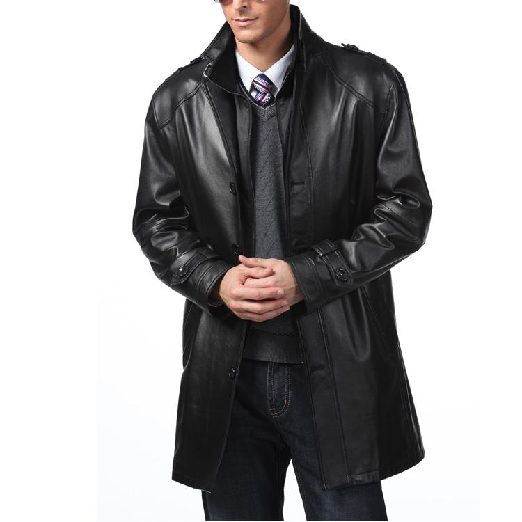 Одежда из кожи Armani 2013